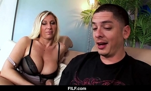 Filf - devon lee wishes her nephew up cum on her bowels