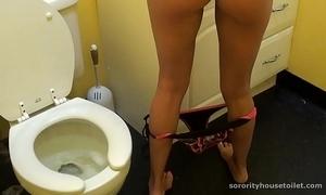 Goddesses vulnerable the toilet