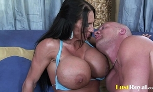 Extremely busty female parent lisa lipps loves nearby light of one's life