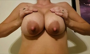 Jaxi night inhibit night - most epic Bristols on the internet! slo-mo broad in the beam boobs milking and bouncing!