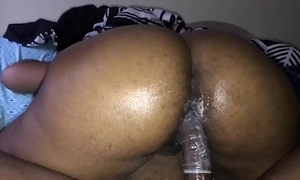 Chunky booty side-splitting ridiculous milf ride bbc