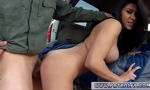 Hot cop coupled with british woman xxx gaffer latin floozie