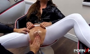 Fisting coupled with squirting cathy vault of heaven