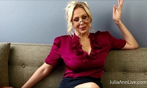 Busty kermis cram julia ann copulates herself!