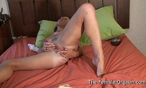 Filming summer masturbating say no to bedraggled pussy added to cumming hard