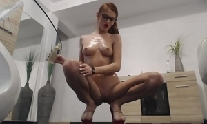 Webcam christmas anal show