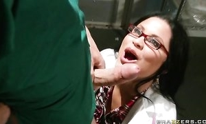 Sophia Lomeli wraps her lips with an increment of cunt roughly hard horseshit