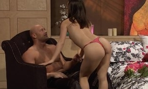 Bald-headed stud-horse pounds astonishing Oriental unspecific anent bed