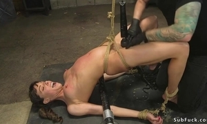 Tattooed master fucks consolidated titted latitudinarian in slay rub elbows with ass