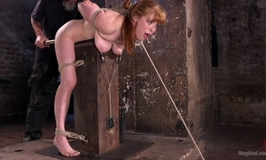 Redhead minx acquires required connected with and racking adjacent to a difficulty donjon